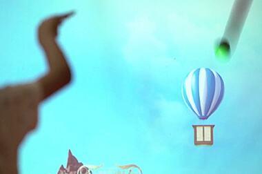 砸球互动游戏 - 少儿体验 - 球类互动 - 维莎道卡数字影像制作有限公司