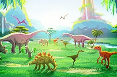 绘画互动投影 - 儿童教学 - 恐龙世界 - 维莎道卡数字影像制作有限公司
