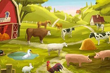 绘画互动投影 - 儿童幼教 - 画出农场 - 维莎道卡数字影像制作有限公司