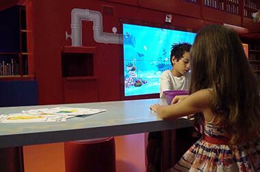 绘画互动投影 - 幼儿教学 - 互动画画 - 维莎道卡数字影像制作有限公司