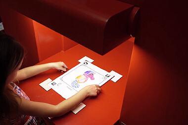 绘画互动投影 - 儿童绘画 - 神笔画画 - 维莎道卡数字影像制作有限公司