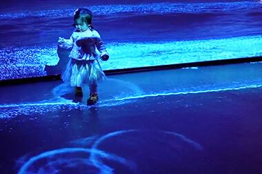 地面互动投影 - 地面沉浸 - 奇幻世界 - 维莎道卡数字影像制作有限公司